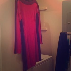 BCBG maxazria medium long sleeve dress.